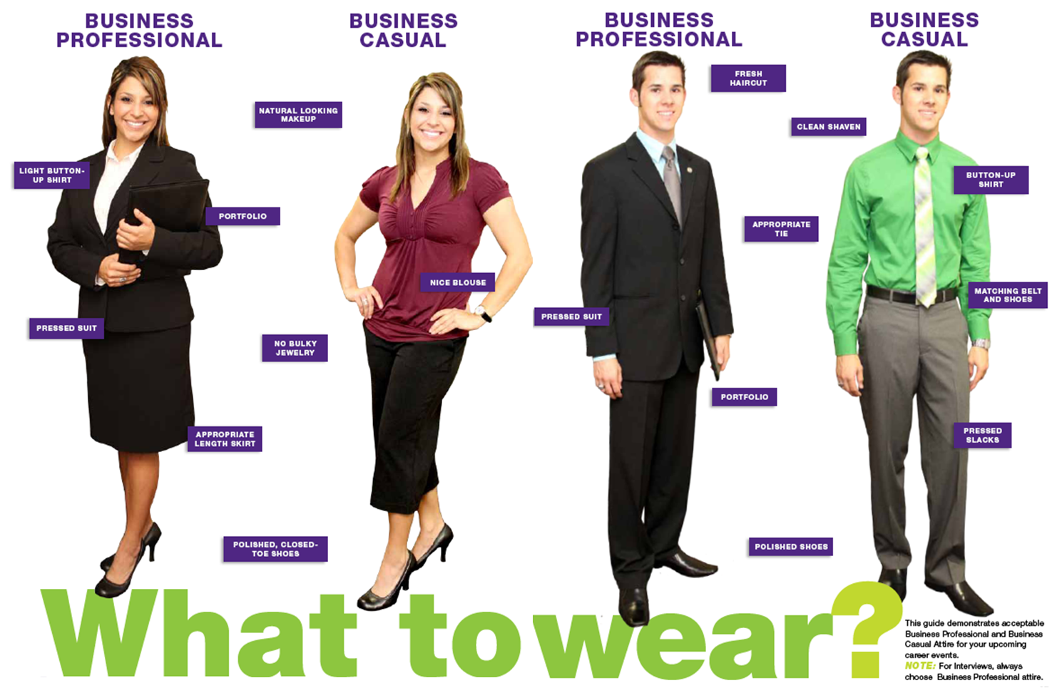 whattowear - What To Wear To An Interview What Not To Wear For An Interview
