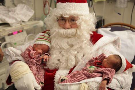 "BWH Facebook page ""Santa Visits the NICU"