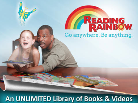 Reading Rainbow, popular Children's show that premiered in 1983.