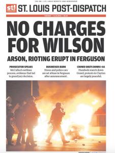 National Headlines for Ferguson